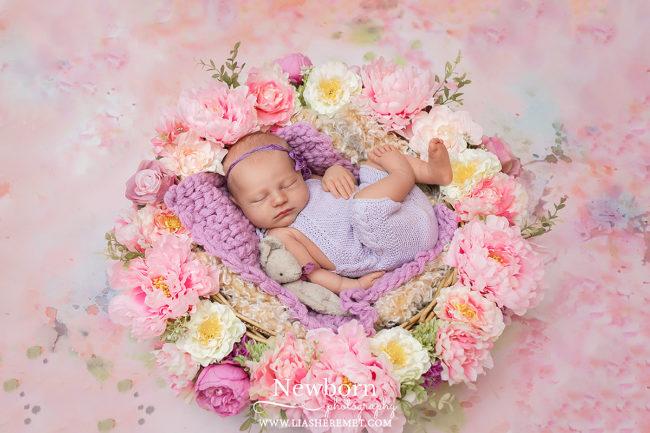 фотосъемка новорожденного дома