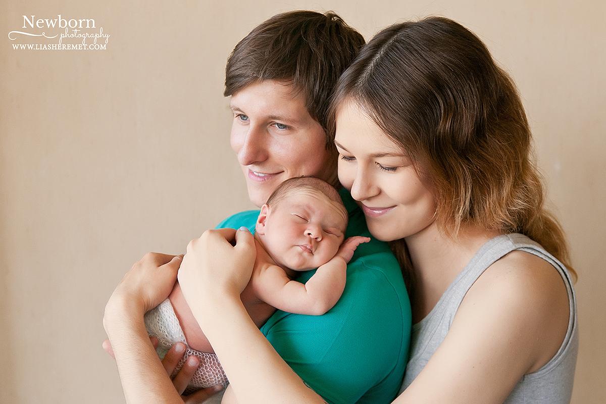 Диана 10 дней. Фотосъемка новорожденного.