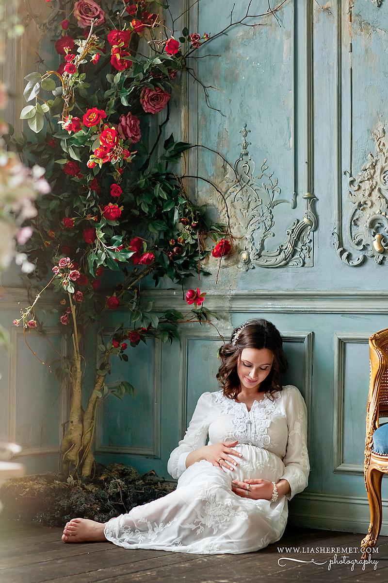 """Фотосъемка будущих мам """"в ожидании"""""""