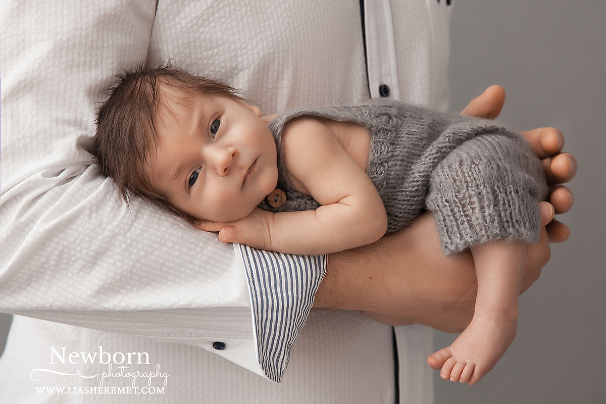 Фотосъемка новорожденного в СПб