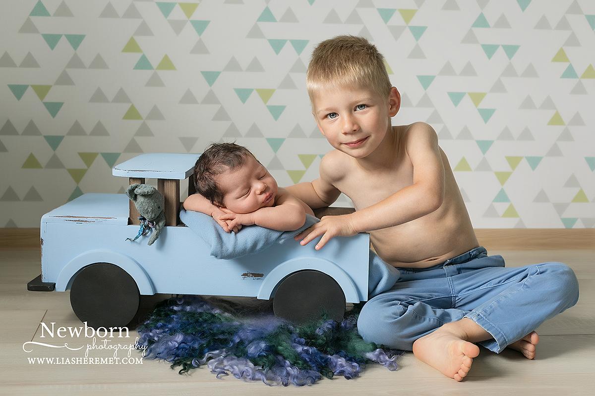 новорожденный, фотосъемка малышей на дому